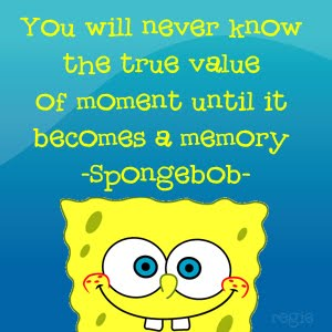 The Stairway of Life: Spongebob Inspirational Quotes