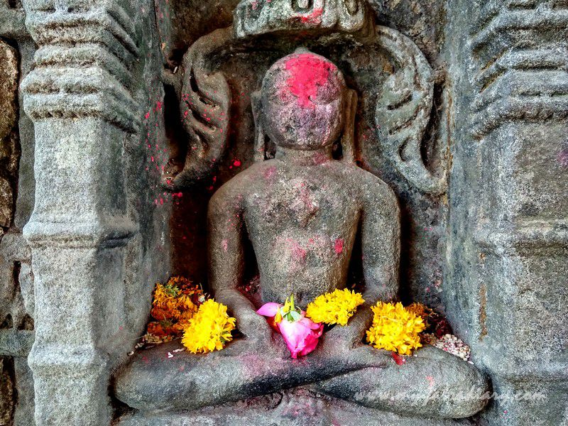 Carved in stone - Mahakalika Temple, Pavagad, Champaner Gujarat