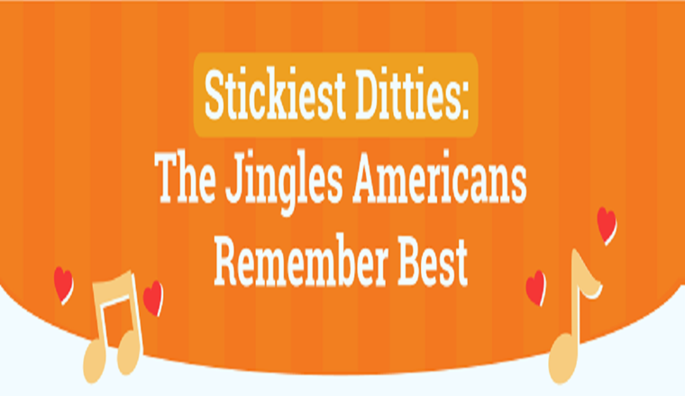 The Catchiest Advertising Jingles of All Time #infographic