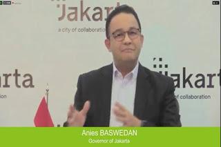 Kala Anies Baswedan Sapa Peserta Forum C40 dengan