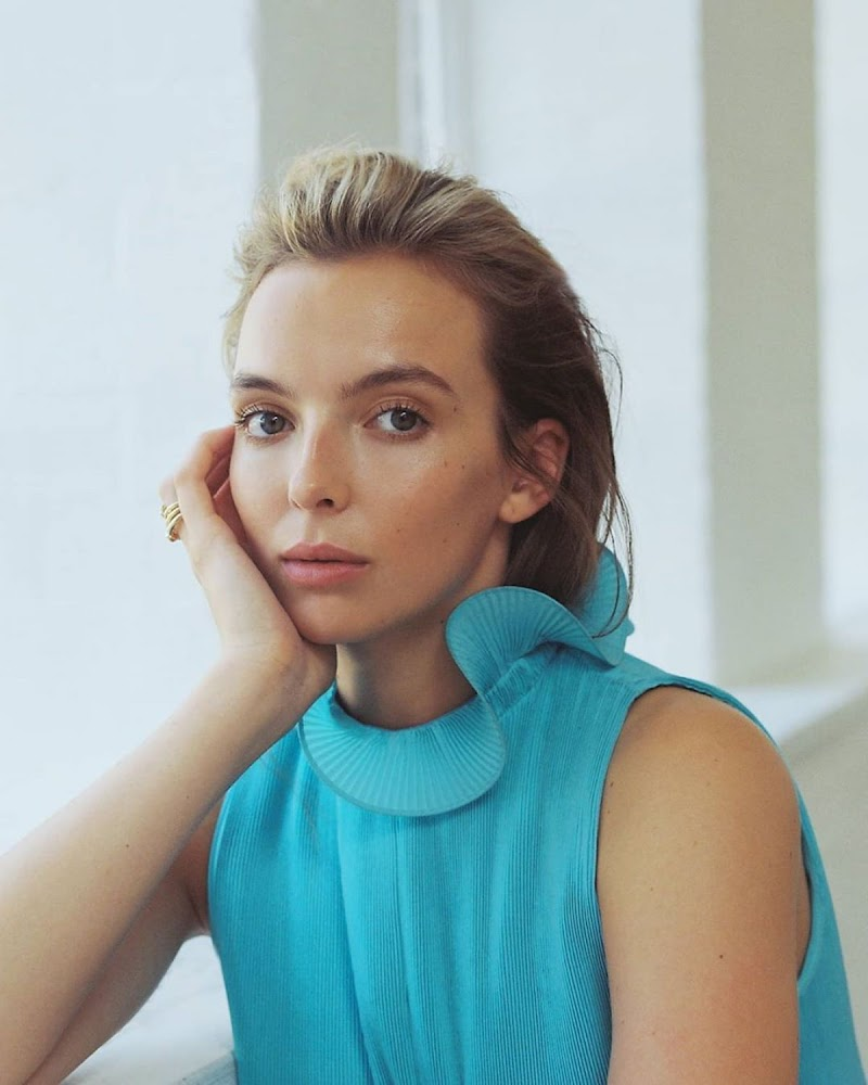 Jodie Comer Clicked for Marie Claire Magazine - Australia January 2021