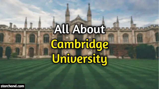 Facts About Cambridge University