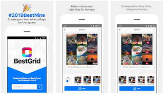 Rekomendasi Aplikasi Best Nine Instagram Terbaik Untuk Android