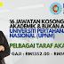 16 Jawatan Kosong di Universiti Pertahanan Nasional Malaysia (UPNM) pelbagai TARAF AKADEMIK. Lihat cara permohonan disini!