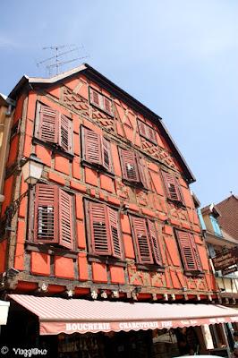 La Maison Siedel è uno degli edifici storici di Ribeauvillé