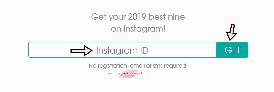 cara mudah buat best nine 2019 on instagram