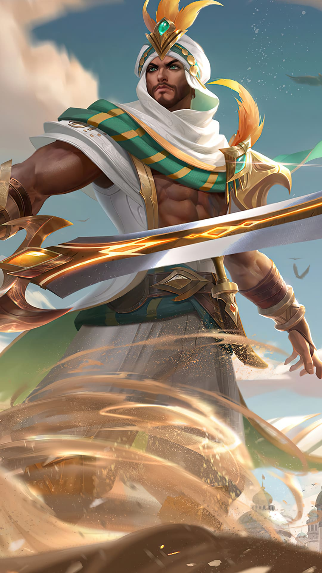 Gambar Khaleed mobile legends hd for mobile