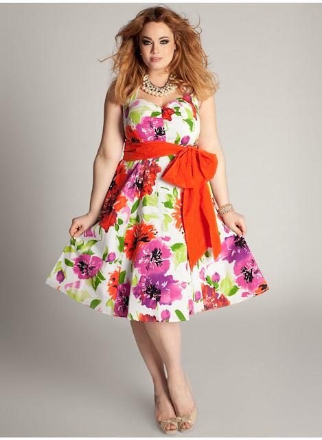 Model Dress Santai Wanita Gemuk Terbaru 2016