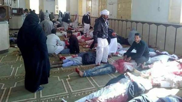 """ضحايا هذا الهجوم الارهابي """"ارتفع إلى 155 قتيلا و120 جريحاً""""."""