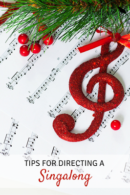 Tips for directing a singalong: Ideas for putting together a holiday singalong for your school community!
