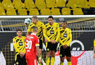 ملخص واهداف مباراة بوروسيا دورتموند ويونيون برلين (2-0) الدوري الالماني