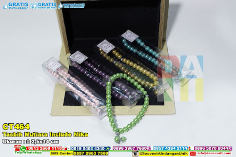 Tasbih Mutiara Include Mika