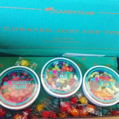 candy from candyclub subscriptioon box