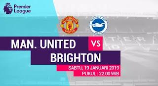 Susunan Pemain Manchester United vs Brighton