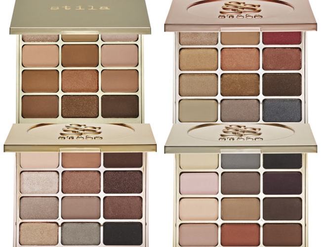 Stila eueshadow palettes: Nouveau Natural,Eyes Are The Window: Spirit, Soul, Mind