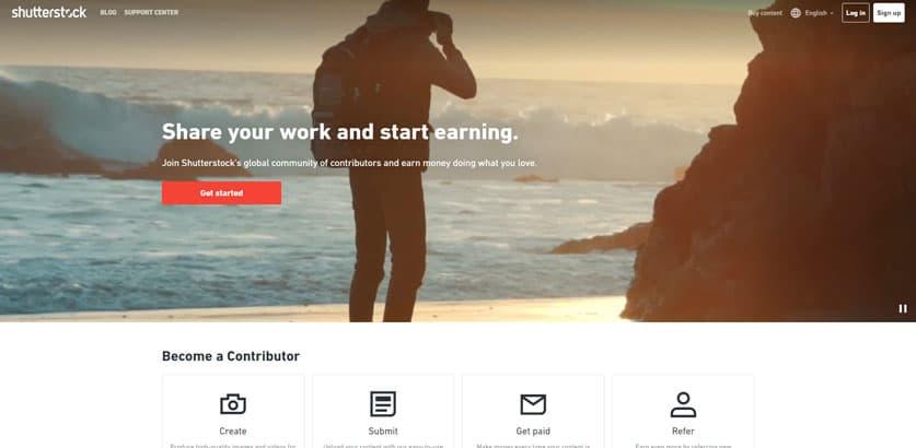 كيف بيع الصور على الانترنت و الربح من التصوير اسهل طريقة للعمل على الانترنت