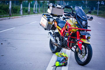 Modifikasi Yamaha Byson Supermoto