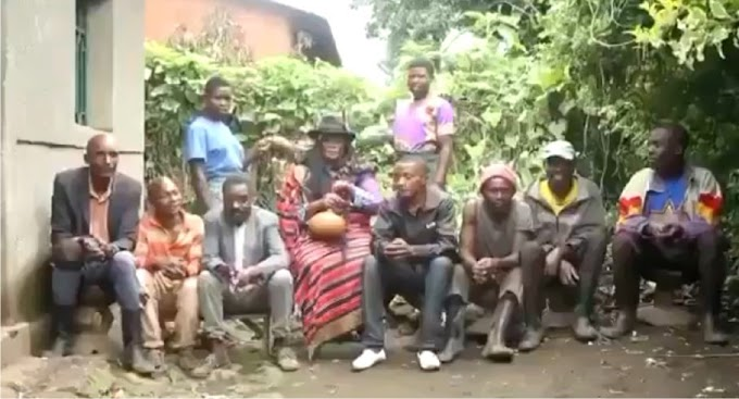 Video: Woman builds house for her 7 husbands