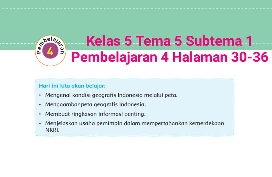 Kunci Jawaban Tes Formatif Modul 1 Tematik
