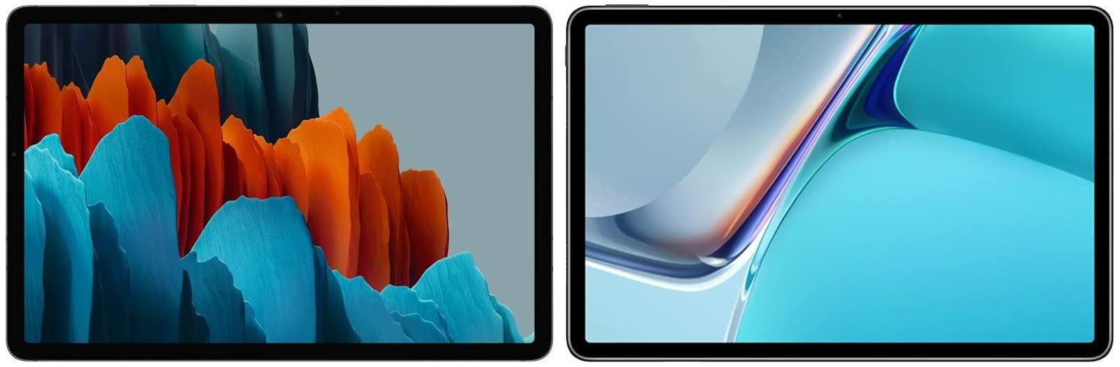 Samsung Galaxy Tab S7 vs Huawei MatePad 11 2021