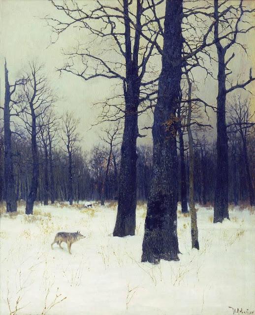 Исаак Ильич Левитан - Зимой в лесу. 1885