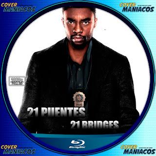 GALLETA 21 PUENTES-21 BRIDGES 2019[COVER BLU-RAY]