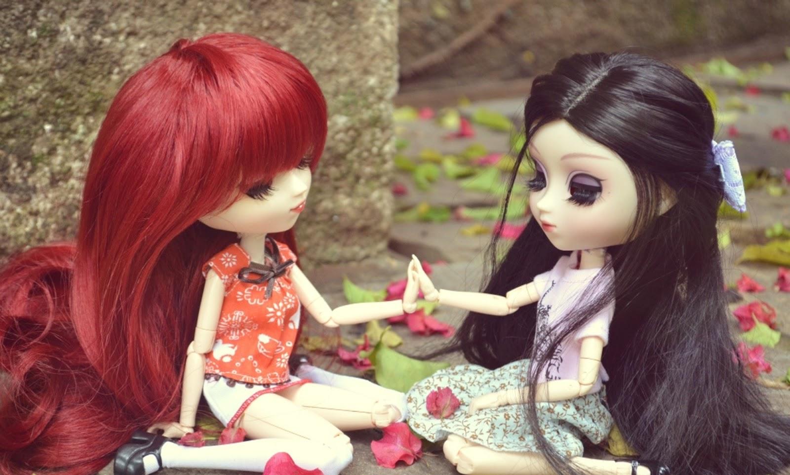 Barbie Dolls Hd Wallpaper Free Download: Cute Baby Barbie Doll Wallpaper