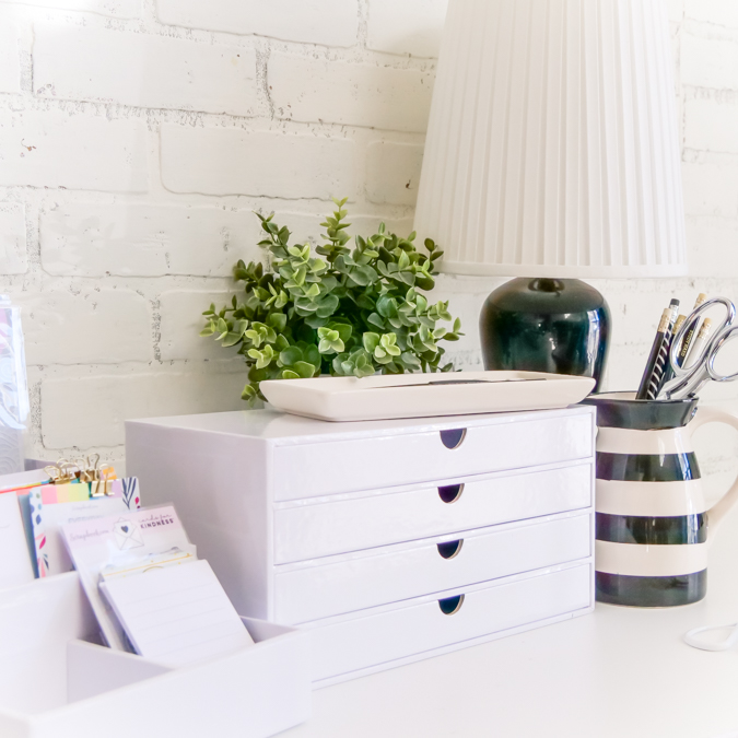 How to Get Organized : 4 Drawer Organizer by Jamie Pate