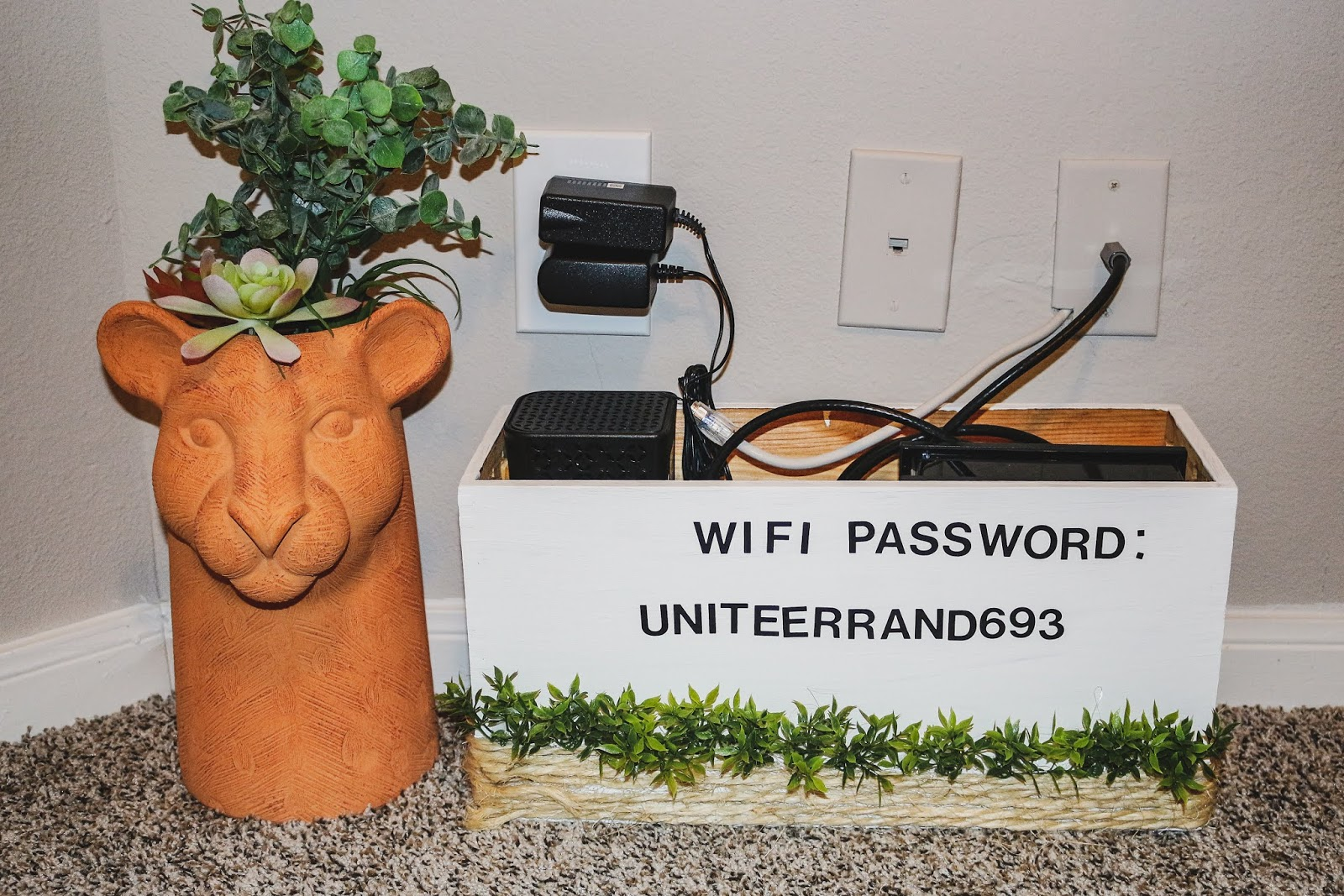 DIY WIFI Password