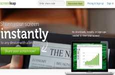 Screenleap: permite compartir pantalla online sin instalar aplicaciones