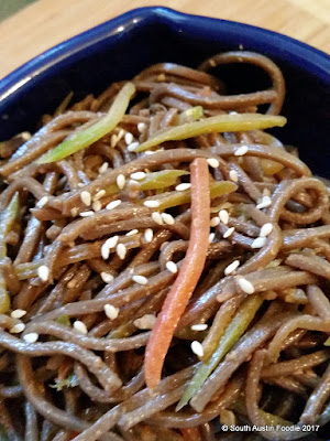 South Austin Foodie soba noodles