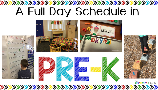 Our Full Day Pre-K Schedule