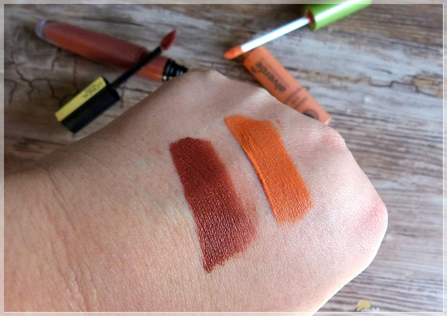 Swatch Loreal Rouge Signature I Explore Lipstick