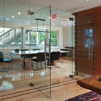 Mengenal Pintu Kaca Frameless - Rumah Material