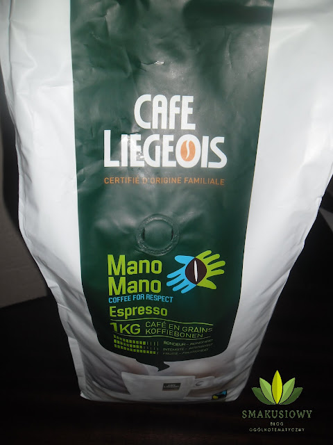 "KAWA ZIARNISTA CAFE LIEGEOIS ""MANO MANO"" 1 KG"