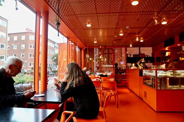 Modern Museet (Museum of Modern Art) cafe, malmo
