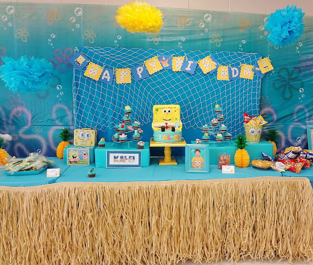 Spongebob Cake Decorating Kit