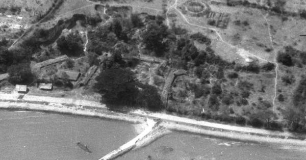 Gudang Amunisi Batuporron Kamal Bangkalan 1946