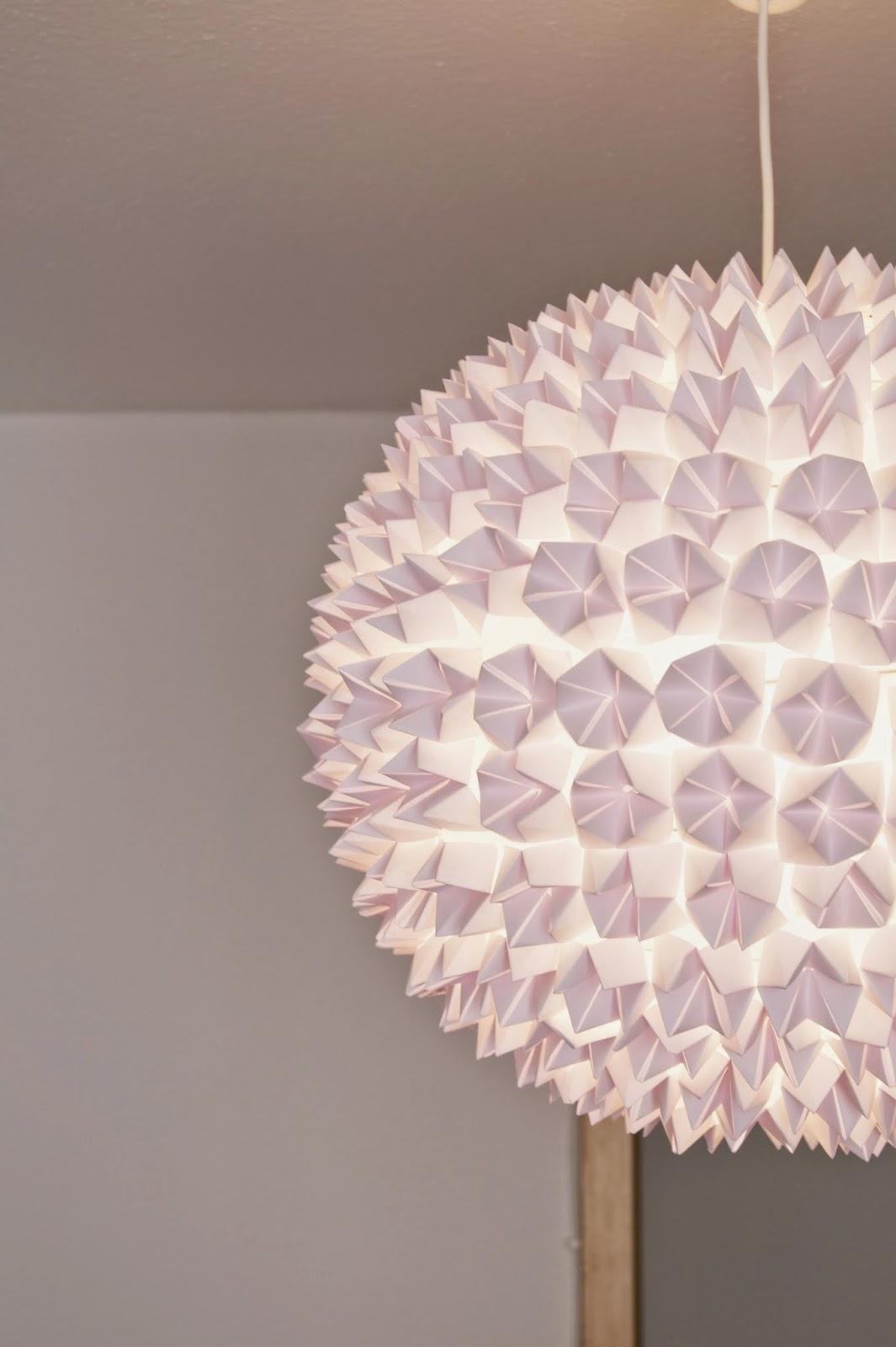glamourisious diy design origami lampe fashion kitchen. Black Bedroom Furniture Sets. Home Design Ideas