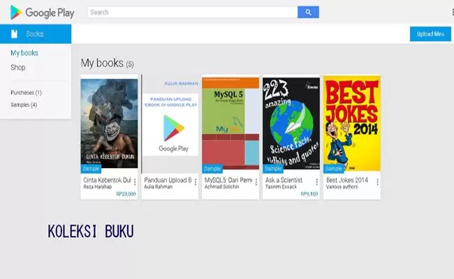 contoh buku google play book