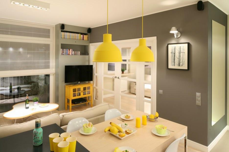Sala Comedor Cocina Pequeños : Decoración de salas pequeñas maxi ideas para espacios mini
