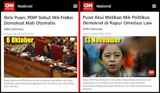 Sempat Dibantah PDIP, Puan Akhirnya Akui Matikan Mik Saat Paripurna Omnibus Law