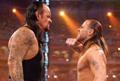WWE WrestleMania 26 The Undertaker versus Shawn Michaels