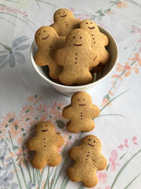 Bonshommes en pain d'épices (biscuits)