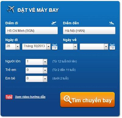 Hình thức đặt vé máy bay trên mạng tiện dụng và đơn giản