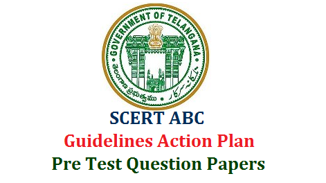 ABC Attainment of Basic Competencies introducing in Telangana by SCERT as per the orders of TS School Education Department Commissioner and Director of School Education. This ABC Programme is intended for the students from classes 3rd to 8th Classes to achieve basic Competencies in Telugu English and Mathematics. Here are the clear Guidelines and Action Plan to Implement the Attainment of Basic Competencies ABC Programme at School Level and related Proformas Pre Test Base Line Test Question Papers Download ts-scert-abc-attainment-of-basic-competencies-guidliens-action-plan-pre-test-question-papers-proforma-download