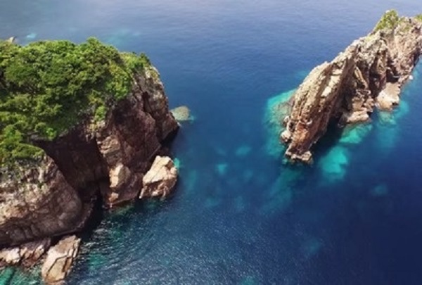 The Drone Footage Of This Secluded Japanese Island Will Make You Want To Live There.