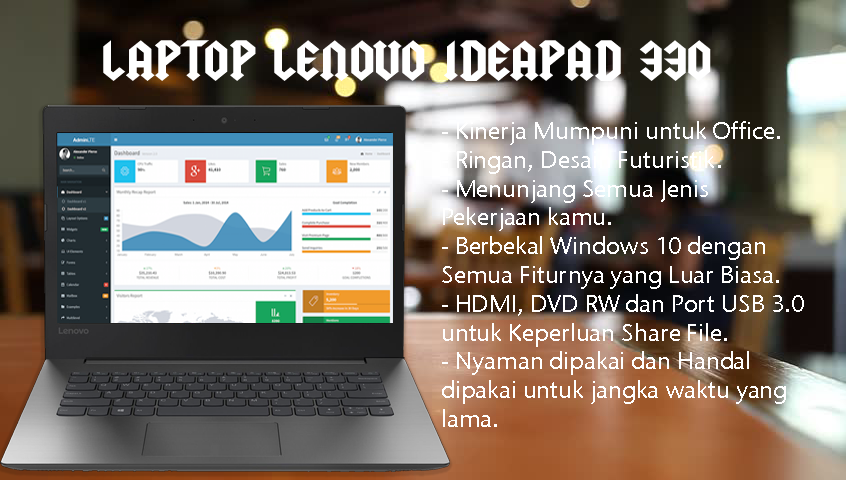 Daftar Harga Laptop Lenovo Ideapad Terbaru 130 330 330s