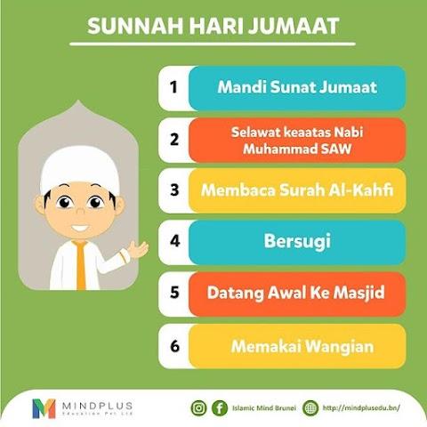 Salam Jumaat 10 Syawal 1440 Hijrah