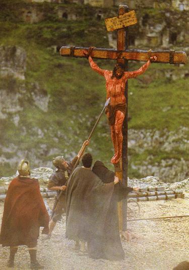 Foto de Jesús crucificado o Cristo en la cruz